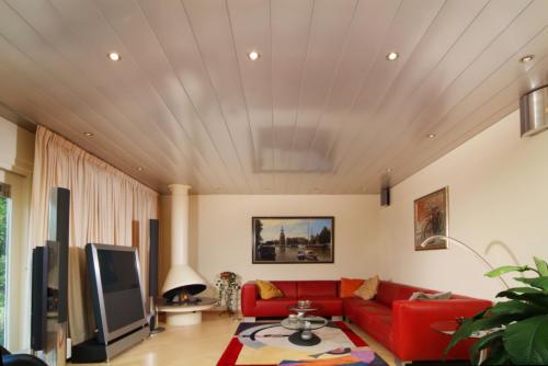 onderhoudsvrije woonkamerplafonds